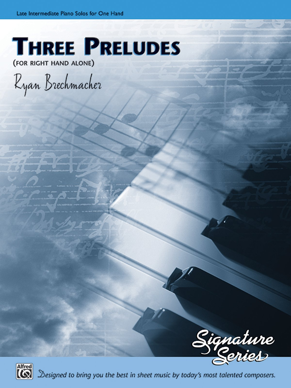 Download Three Preludes (for right hand alone): Sheet (Signature Series) PDF