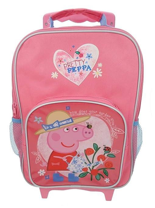 Peppa Pig Equipaje infantil, rosa (Rosa) - PEPPA001338