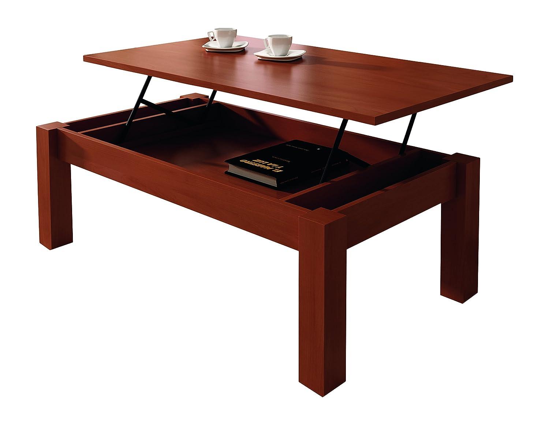 Mesas que se elevan trendy este asiento esquinero con mesa de amplia tapa a menor altura de la - Mesas de centro que se elevan ...
