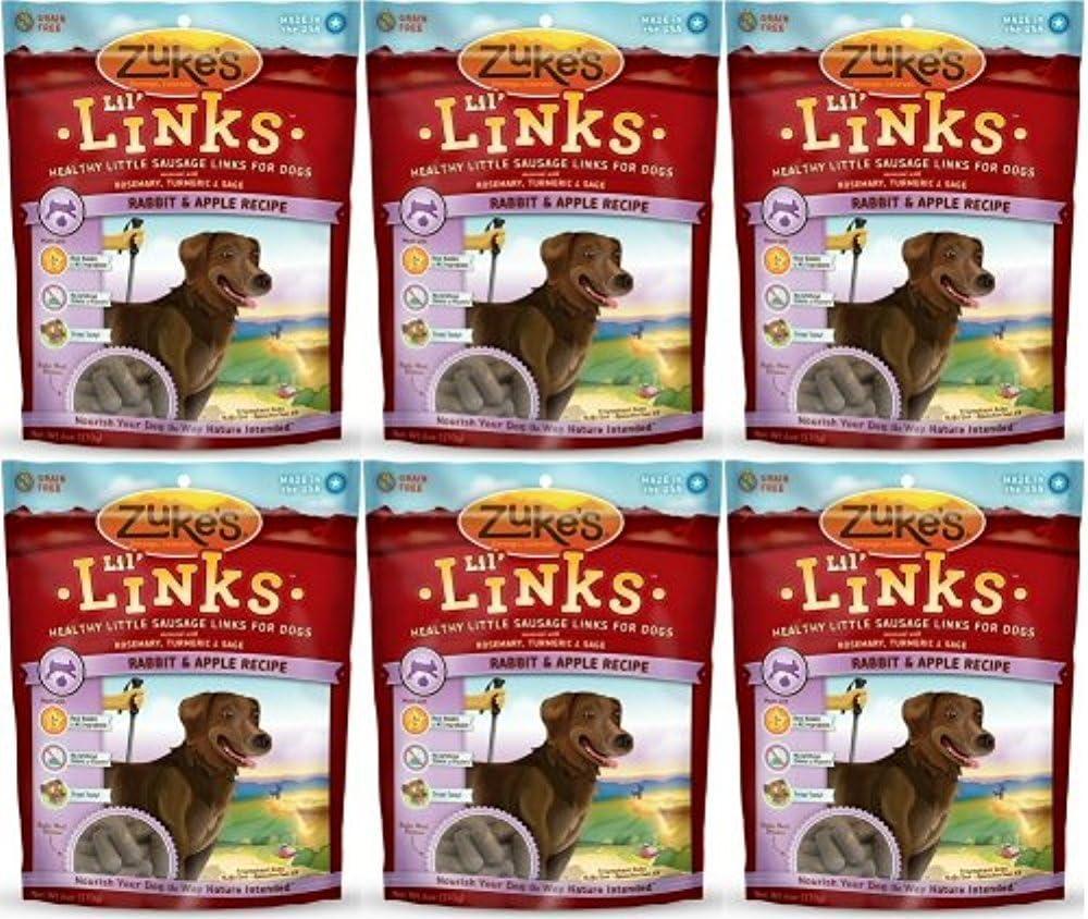 Zuke's Lil' Links Rabbit & Apple 2.25Lbs (6 x 6oz)