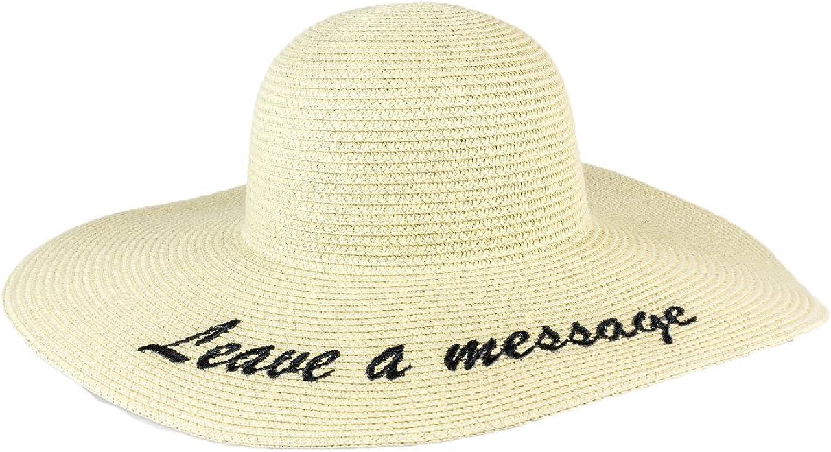 Womens Hat Summer Hat Tan Brown Gold Hat Wide Brim Floppy Hat Vintage Sun Hat Beach Hat Magid Paper Straw Floppy Hat