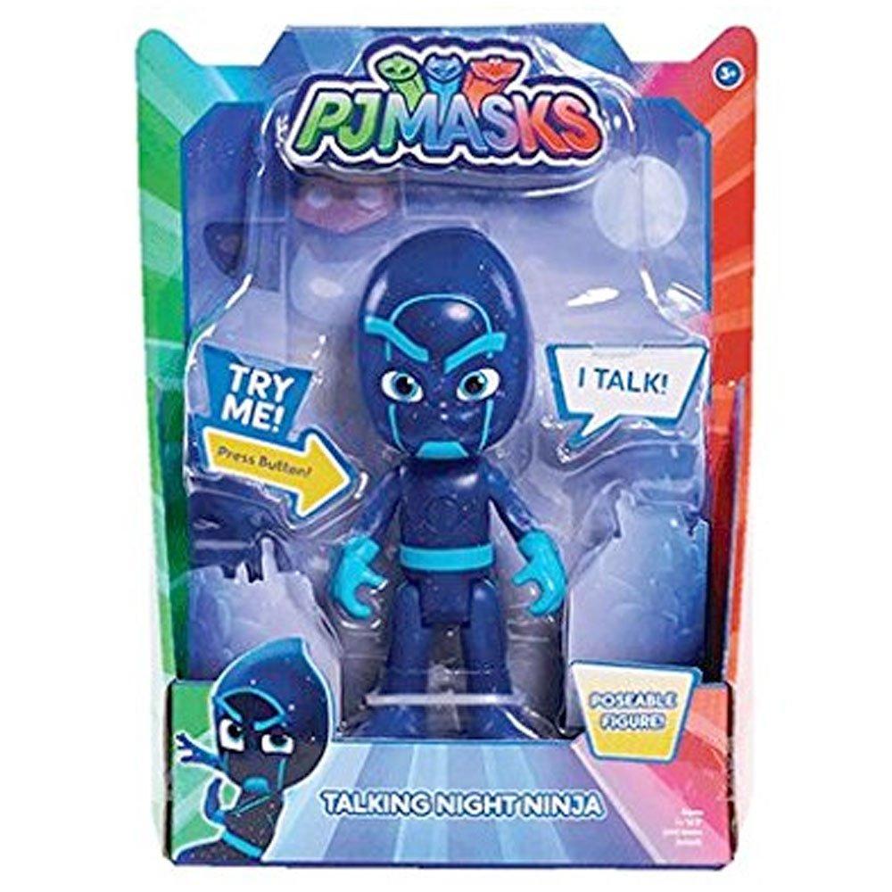 Figura parlante de Ninja Nocturno de la Serie Infantil PJ Masks (15 cm)