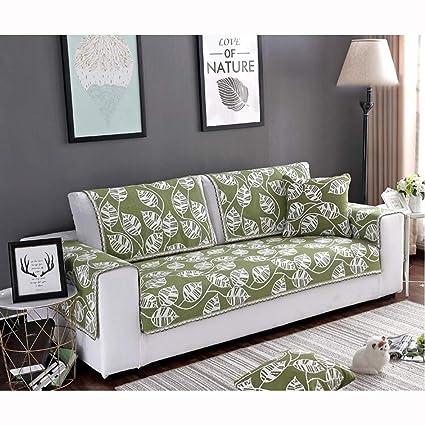 Amazon.com: YUNJIE Anti-Slip Sofa Cover, Linen Slipcover ...