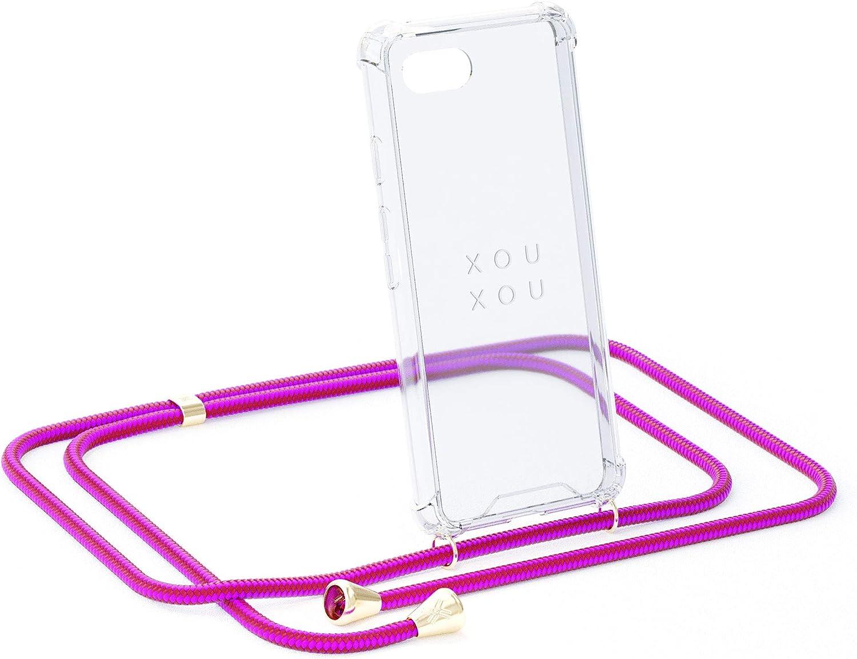 Funda con Correa de cord/ón The Original Xouxou Smartphone Collar para iPhone 11 Pro