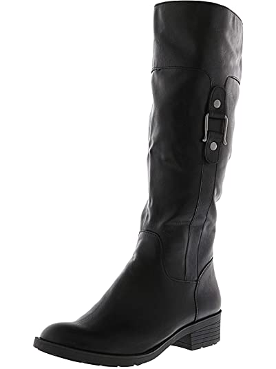 5ee7ff2682f Style   Co. Womens Astarie Closed Toe Knee High Riding Boots