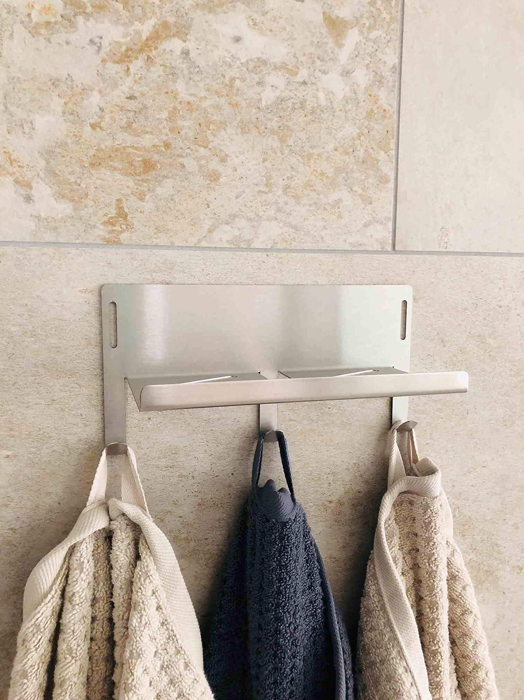 Badzubehör & textilien Badablage Handtuchhalter Hakenleiste
