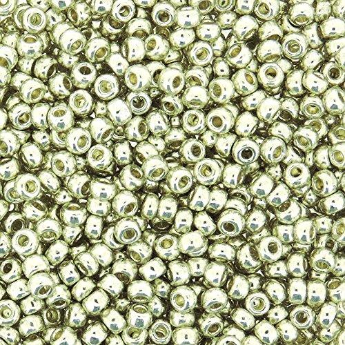 Miyuki Round Seed Bead Size 8/0 22g-tube Galvanized - Chart Size Glass