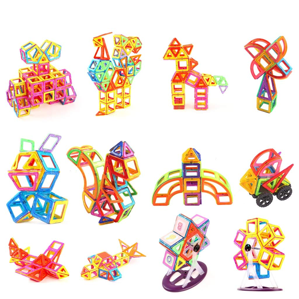 LIUFS-TOY Magnetic Piece Building Blocks Children's Toys Assembling Patch Puzzle Diamond 3-10 Years Old Boy Girl (Size : 331 Pieces) by LIUFS-TOY (Image #2)