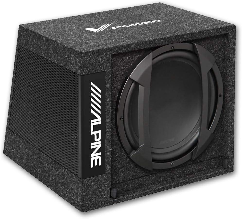 Alpine Swe 355 30cm Aktivsubwoofer Im Elektronik