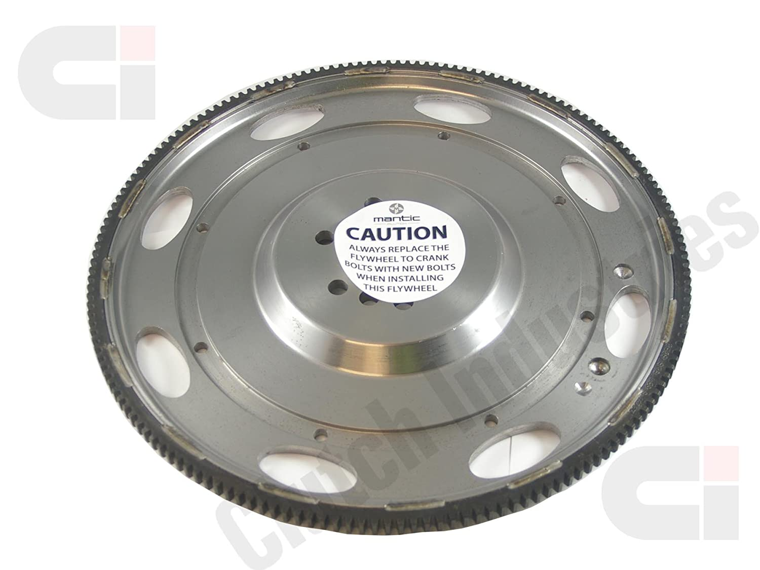 Mantic Track Clutch Kit | Aluminium Cover Assembly | Twin Ceramic Clutch Plates, No Cushion - More Suited to Track Use | CSC | Solid Flywheel with Bolt Kit ...