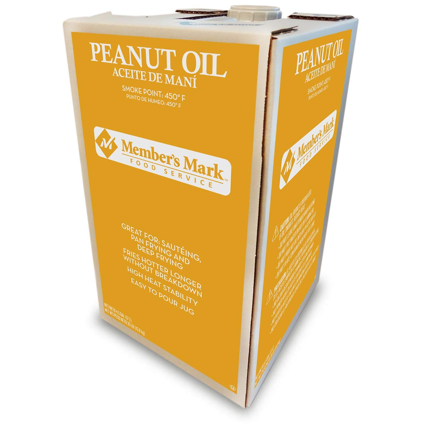 Member's Mark Peanut Oil 4.5 gals. A1