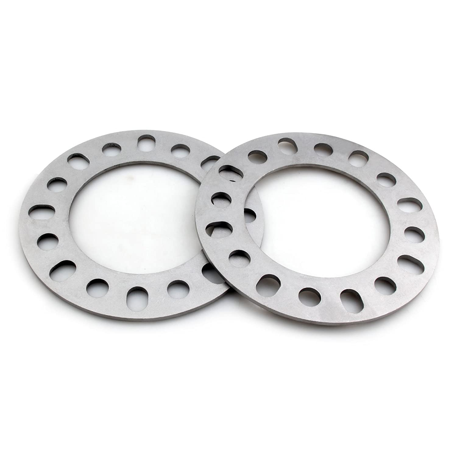 DCVAMOUS 6mm or 1/4' Universal Wheel Spacers 8 Lug for All 8x170 8x6.5 8x165.1 Bolt Pattern (4PC)