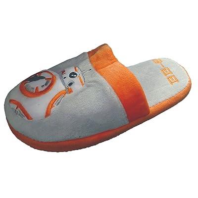 Adultos oficial de Star Wars BB-8peluche Slip On mula Zapatillas