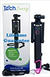 Selfie Stick for IPhone 6 6+ 5S Samsung Galaxy and android. on your Digistick TSI U-shaped monopod with Bluetooth remote shutter.