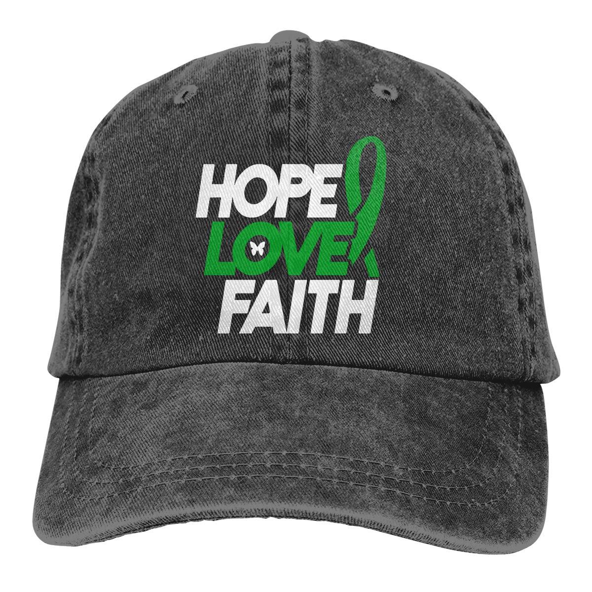 PMGM-C Brain Injury Awareness Adult Personalize Cowboy Hat Casquette Adjustable Baseball Cap