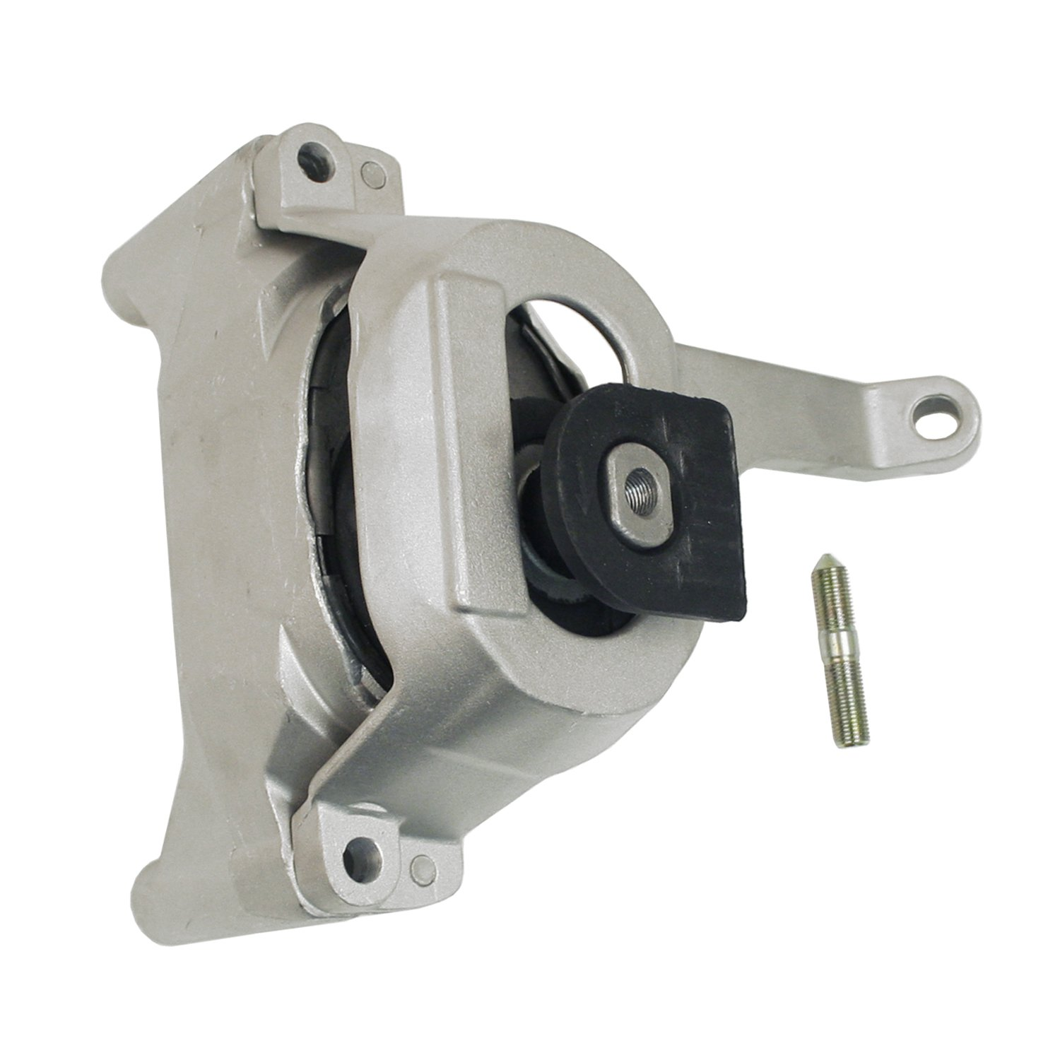 PT Auto Warehouse NI-2120MG-LH Frost Gray Housing with Chrome Lever Driver Side Inside Interior Inner Door Handle