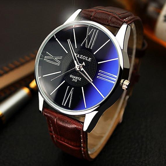 Mens Watches Top Brand Luxury Yazole Watch Men Fashion Business Quartz-watch Minimalist Belt Male
