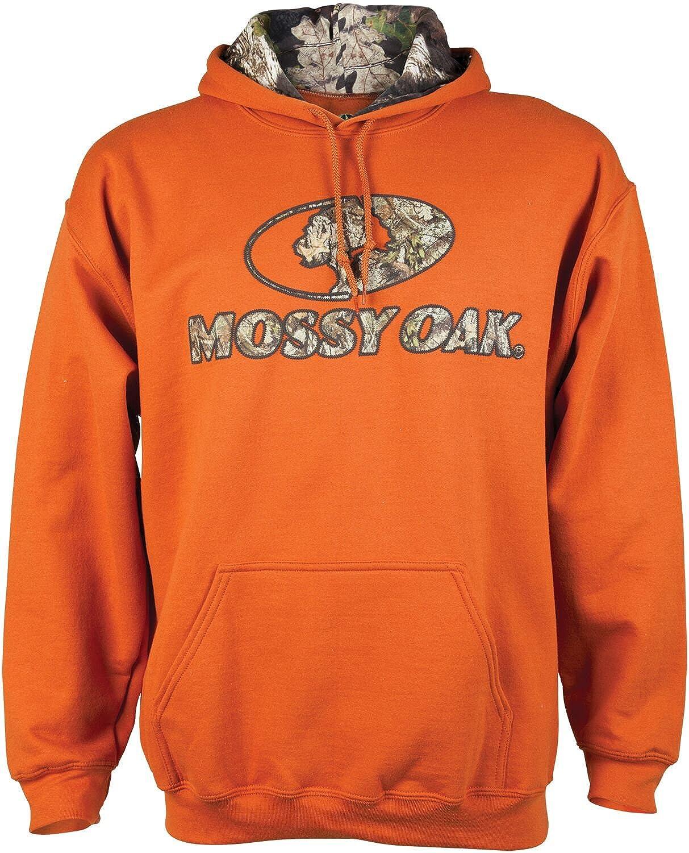 Mossy Oak Mens Camo-Lined Hoodie