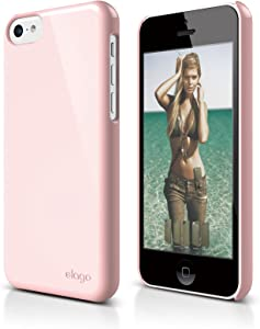 elago S5C Slim Fit 2 Case for iPhone 5C - eco Friendly Retail Packaging (Lovely Pink)