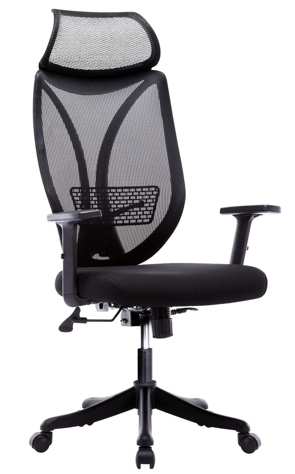 IntimaTe WM Heart High Back Ergonomic Executive Office Chair,Adjustable  Mesh Desk Chair,Office Chair with Arms and Lumbar Support,Computer Chairs