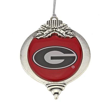 MadSportsStuff University of Georgia Bulldogs Christmas Ornament - Amazon.com : MadSportsStuff University Of Georgia Bulldogs Christmas