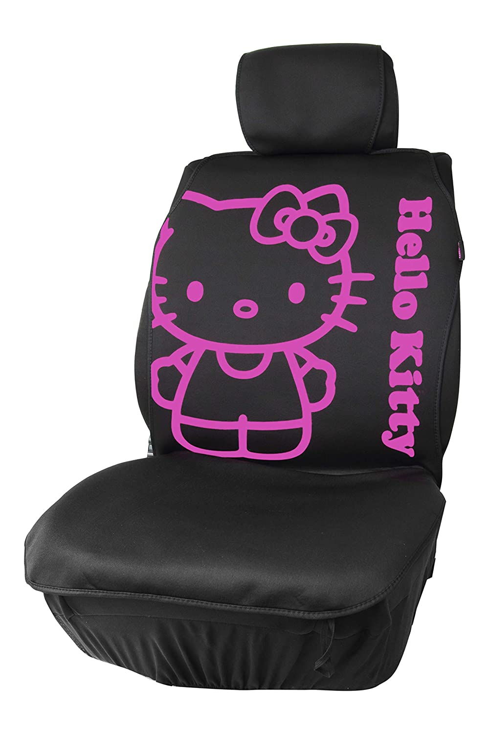 Hello Kitty KIT3017 Cubreasiento, Negro