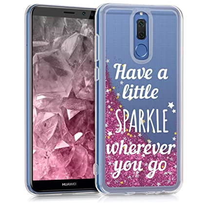 Amazon.com: kwmobile Crystal Case Cover - Carcasa para ...