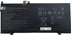 7XINbox 11.55V 60.9Wh 5275mAh CP03XL HSTNN-LB8E Replacement Laptop Battery for HP Spectre X360 13 X360 13-ae000 13-ae006no 13-ae001ng 13-ae049ng Series TPN-Q195 TPN-Q199 929066-421