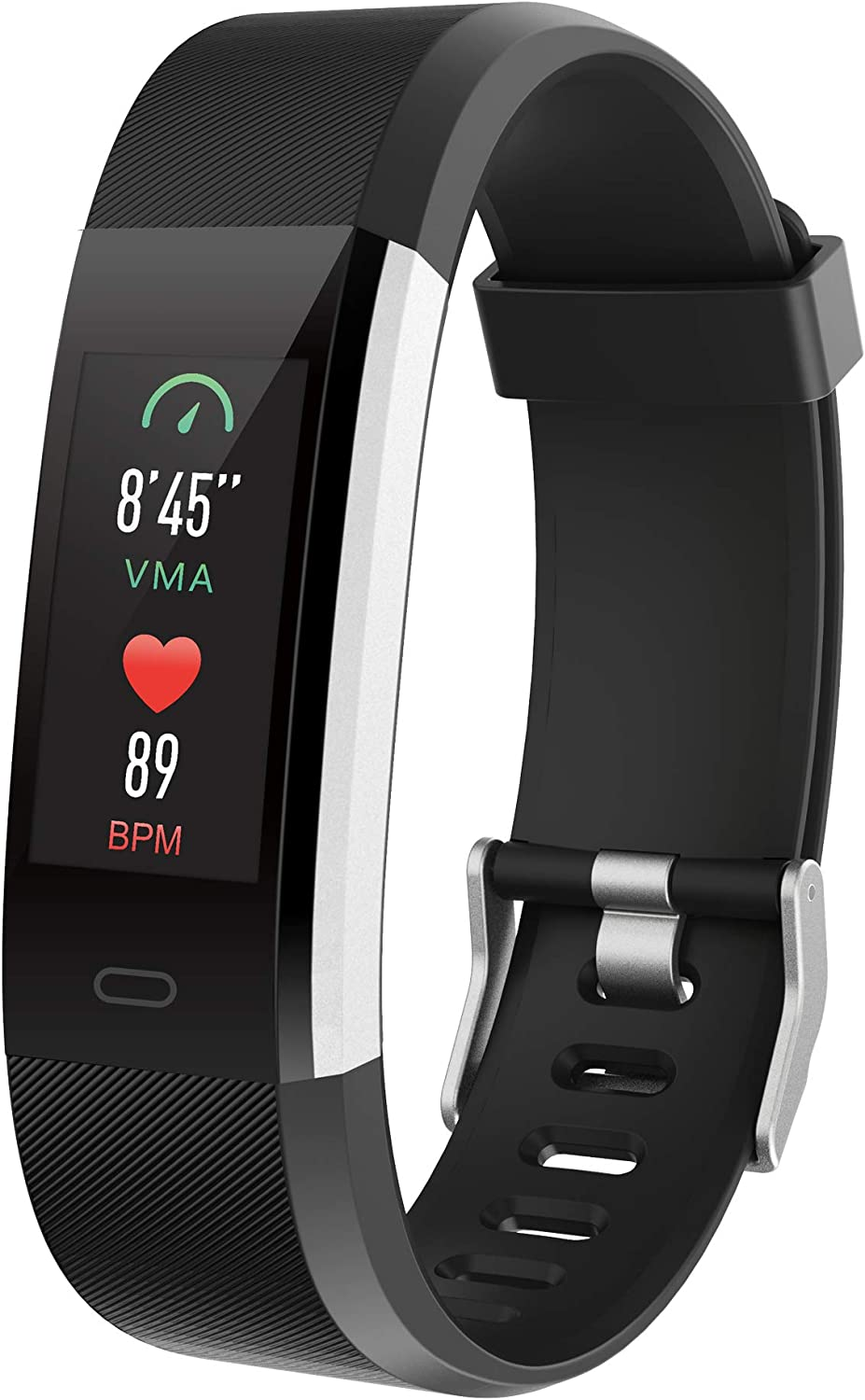 spitilo Fitness Tracker with Heart Rate Monitor,50m Waterproof Multisport GPS,Smart Wristband Watch for iOS Android
