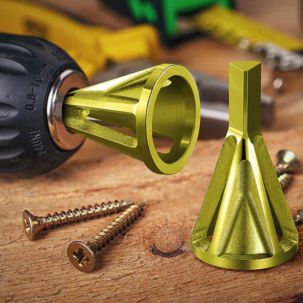 Stainless Steel External Chamfer Drill Bit Deburring External Chamfer Tool Bit Remove Burr Repair Stainless Steel