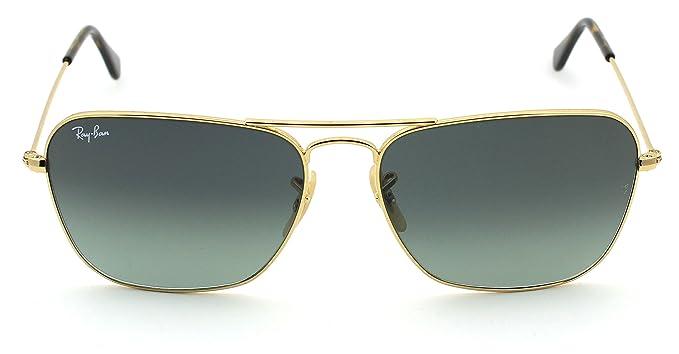 a53f731b750 Ray-Ban RB3136 181 71 Unisex Caravan Sunglasses (Havana Gold Frame Grey  Gradient Lens 181 71