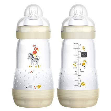 MAM Easy Start Self Sterilising Anti Colic Bottles All colours and sizes