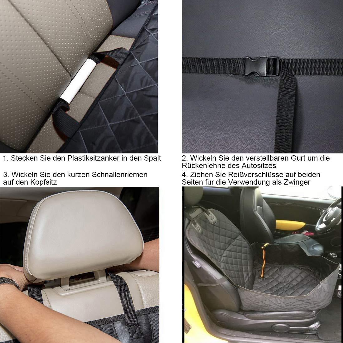 Petsense coprisedile singolo protezione per sedili auto per animali domestici coprisedili auto robusti e universali per animali domestici coprisedile anteriore