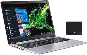 "Acer Aspire 5 Laptop, 15.6"" Full HD Screen, AMD Ryzen 5-3500U Processor up to 3.7GHz, 16GB RAM, 1TB SSD, Webcam, Wireless-AC, HDMI, Win 10 Home, Silver, KKE Mousepad"