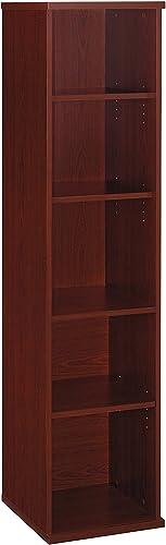 Bush Business Furniture Series C Collection 18W 5 Shelf Bookcase in Mahogany