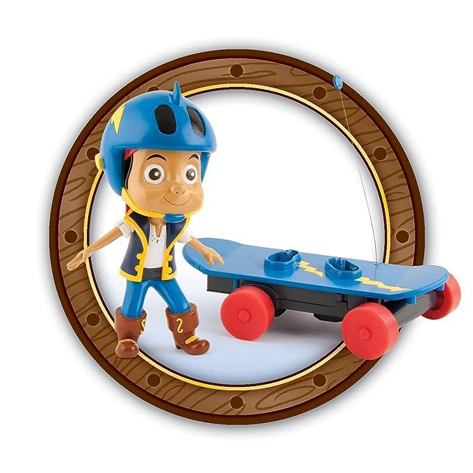 Amazon.com : IMC Toys - 260115 - Peluche - Skate Radio Commandé Jack le Pirate : Headphones : Sports & Outdoors