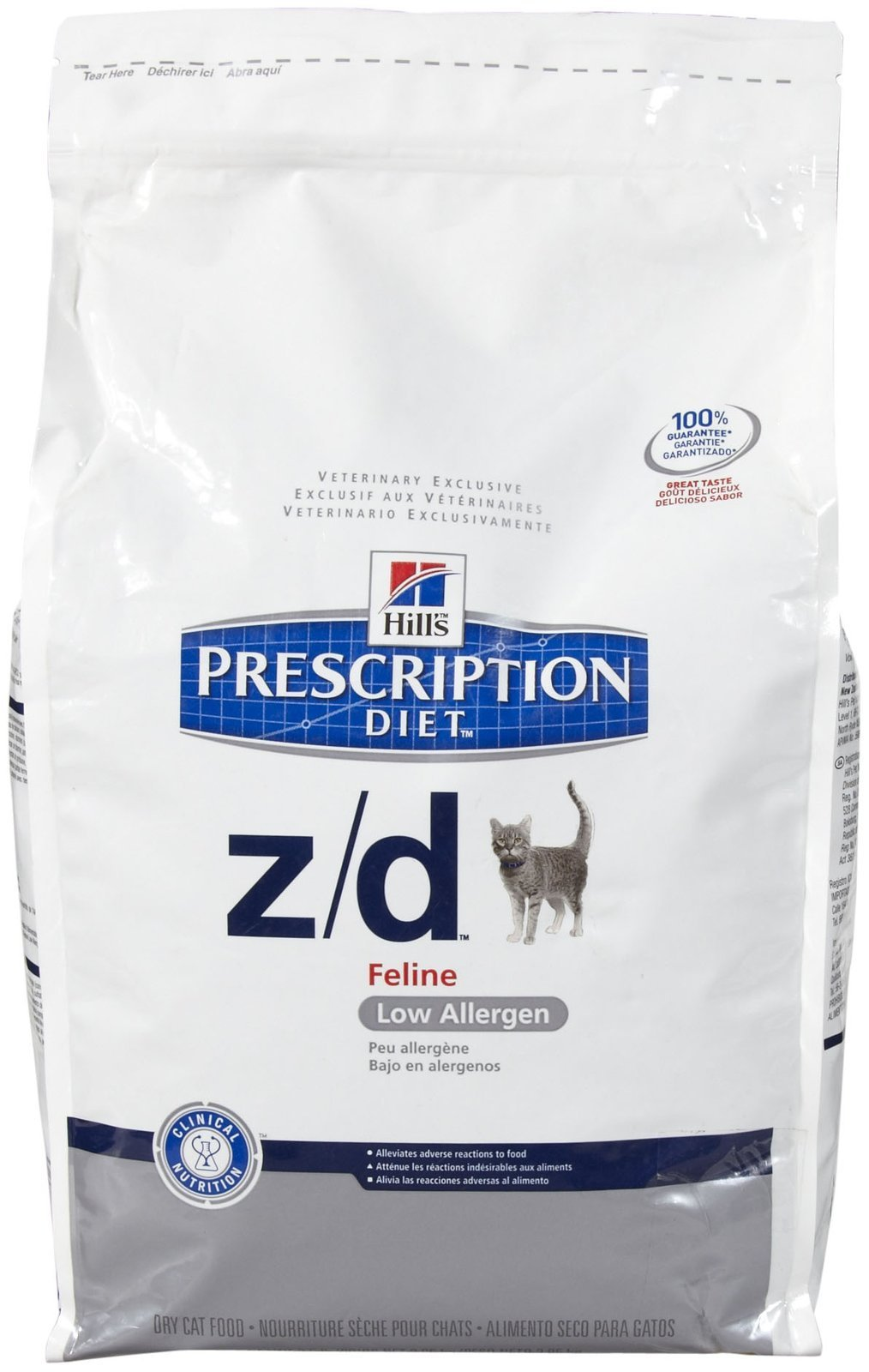 Hills Z/D Low Allergen Cat Food 8.5 lb