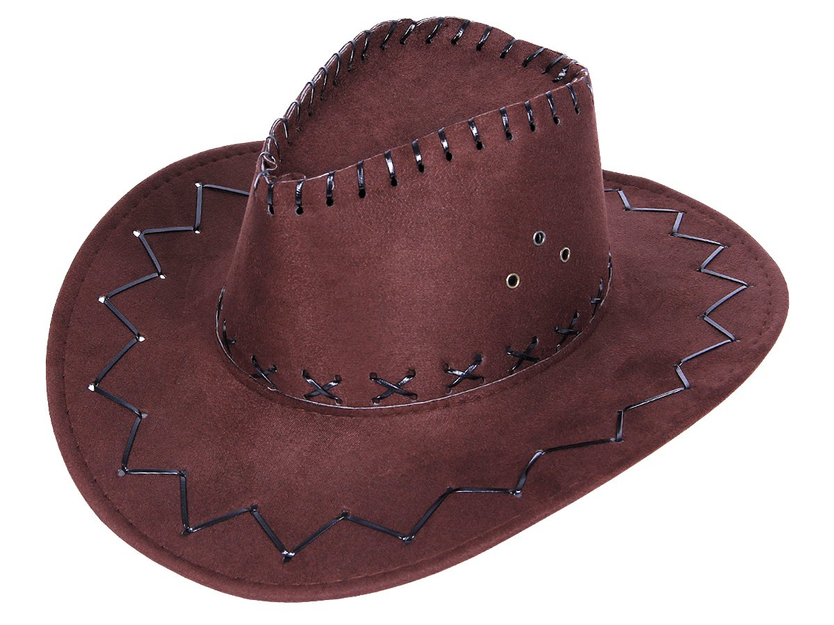 Alsino Cowboy Western Australian Hat Texas Hat All Colours One size Brown