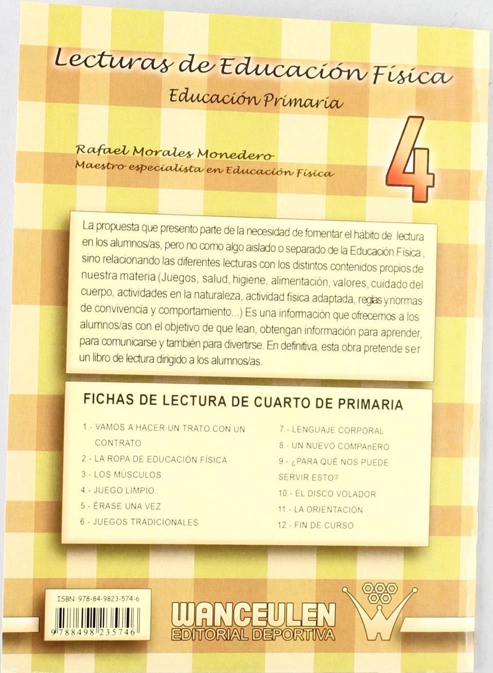 Lecturas de Educación Física. Fichas de 4º de Primaria ...