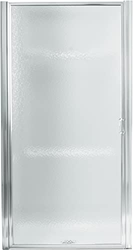 STERLING, a KOHLER Company 950C-24S Standard Pivot Shower Door, 23-1 2-IN TO 25-IN, Silver