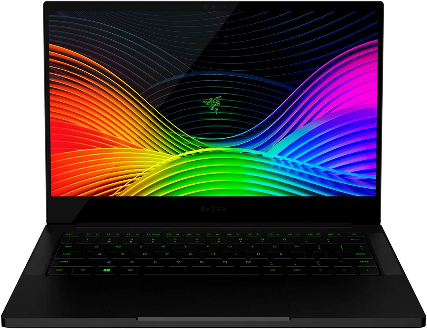 "Razer Blade Stealth 13 Ultrabook Gaming Laptop: Intel Core i7-1065G7 4 Core, NVIDIA GeForce GTX 1650 Max-Q, 13.3"" UHD 4K 60Hz, 16GB RAM, 512GB SSD, CNC Aluminum, Chroma RGB, Thunderbolt 3, Black"