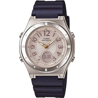 4571954814 [カシオ]CASIO 腕時計 WAVECEPTOR ウェーブセプター レディース電波ソーラーウォッチ ネイビー MULTIBAND6 マルチバンド