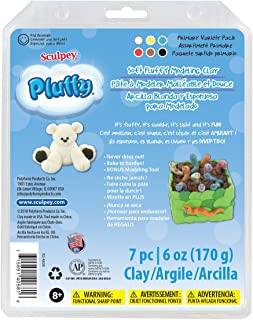 product image for Sculpey Pluffy Multipack - Primary, 6 x 1 Oz