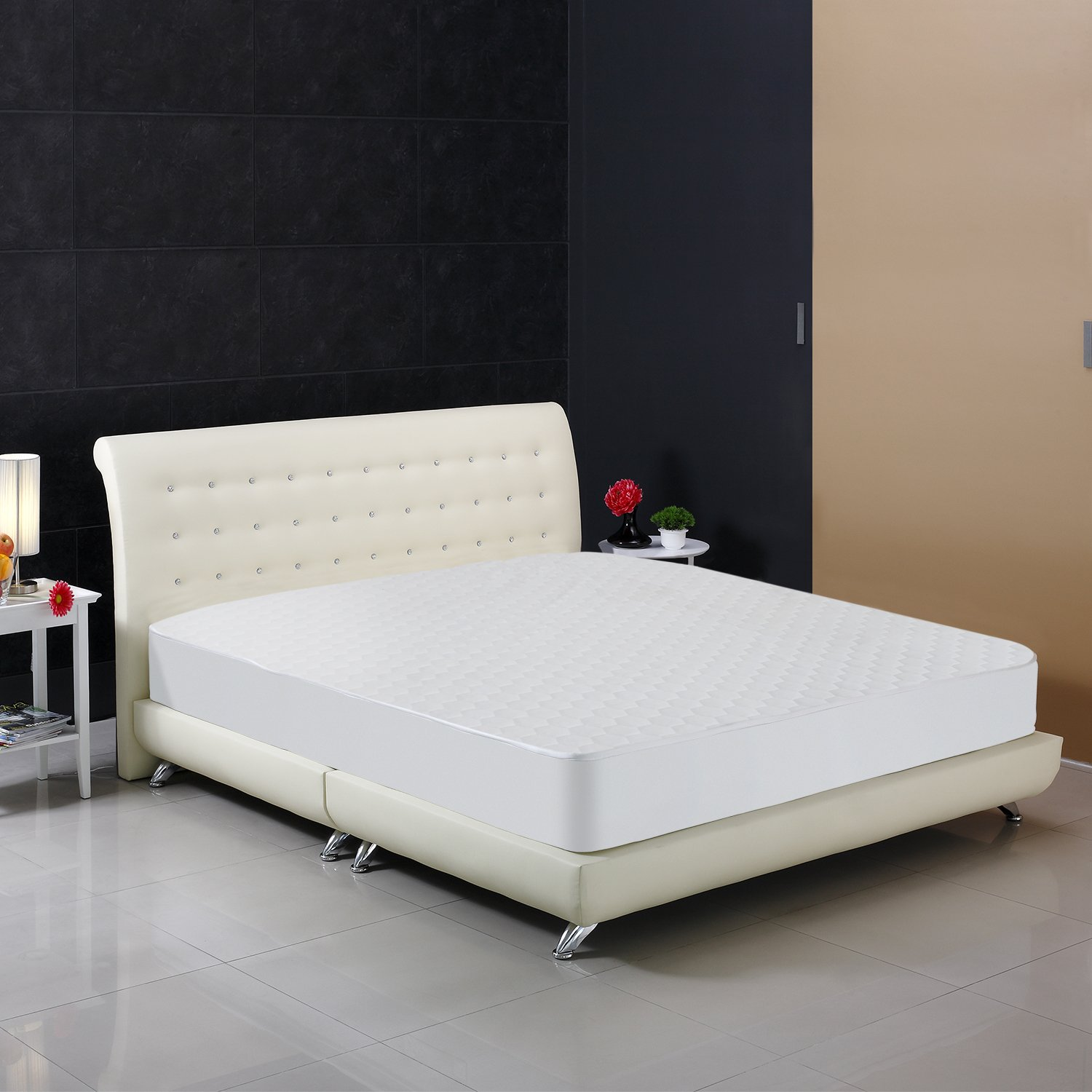 Mattress Protector Hypoallergenic Waterproof Fitted Jacquard Mattress Cover Lot