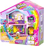 Shopkins Happy Places Rainbow Beach House Playset - Includes House Plus 5 Petkin Accessories & Palm Tree | Compatible…