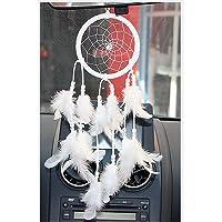 Helper007hecha Dream Catcher Net con plumas pared decoración