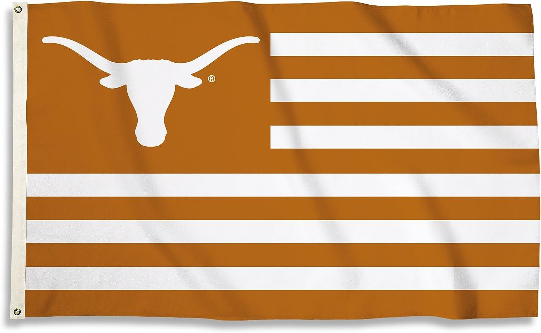BSI NCAA College Texas Longhorns 3 X 5 Foot Flag with Grommets