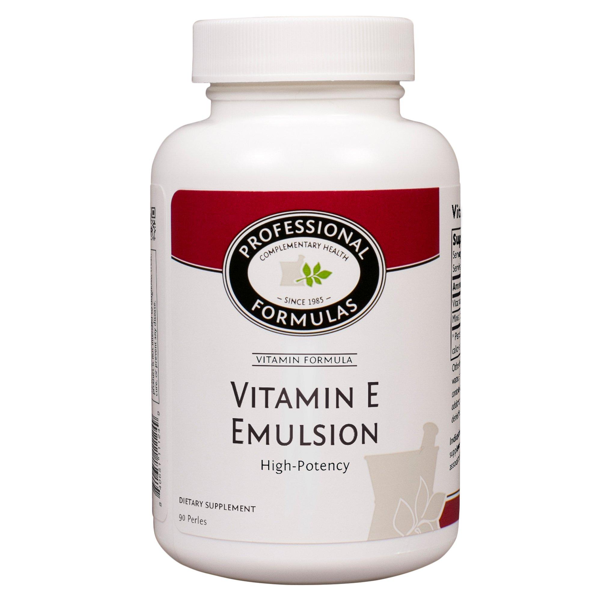 Professional Formulas, Vitamin E Emulsion 400, 90 Perles