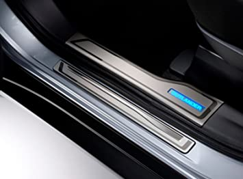 2016 Genuine Mitsubishi Outlander iluminado puerta embellecedores de mz527539ex: Amazon.es: Coche y moto