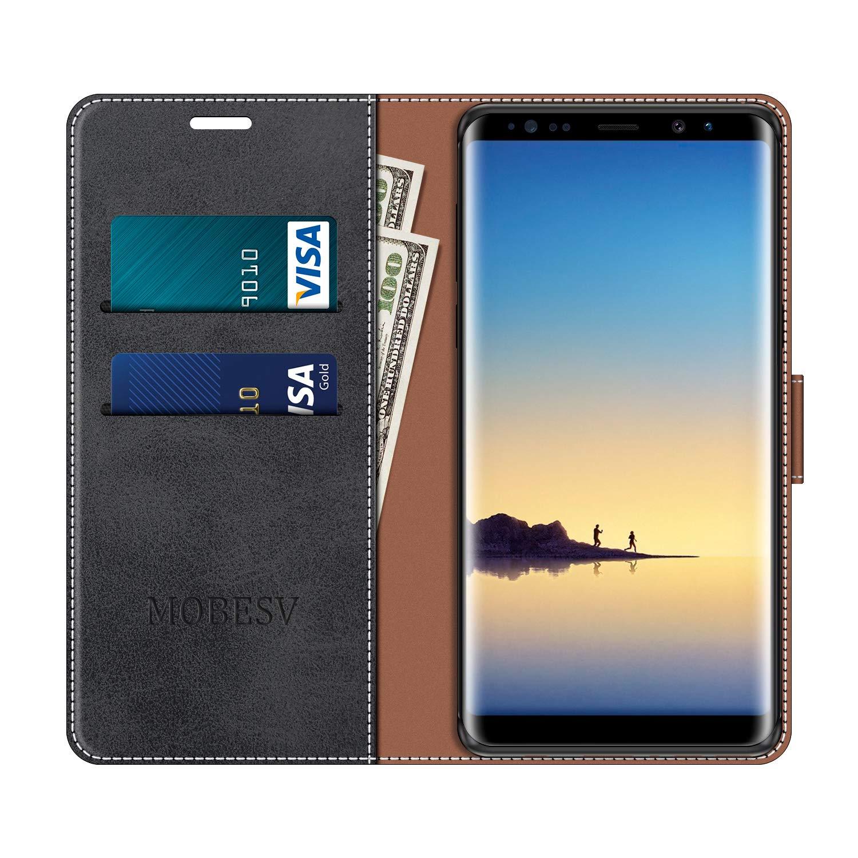 MOBESV Funda para Samsung Galaxy Note 8 Azul Funda Libro Samsung Note 8 Funda M/óvil Samsung Galaxy Note 8 Magn/ético Carcasa para Samsung Galaxy Note 8 Funda con Tapa